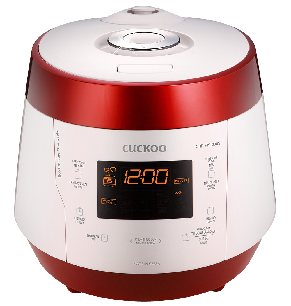 Nồi cơm điện tử áp suất Cuckoo CRP-PK1000S