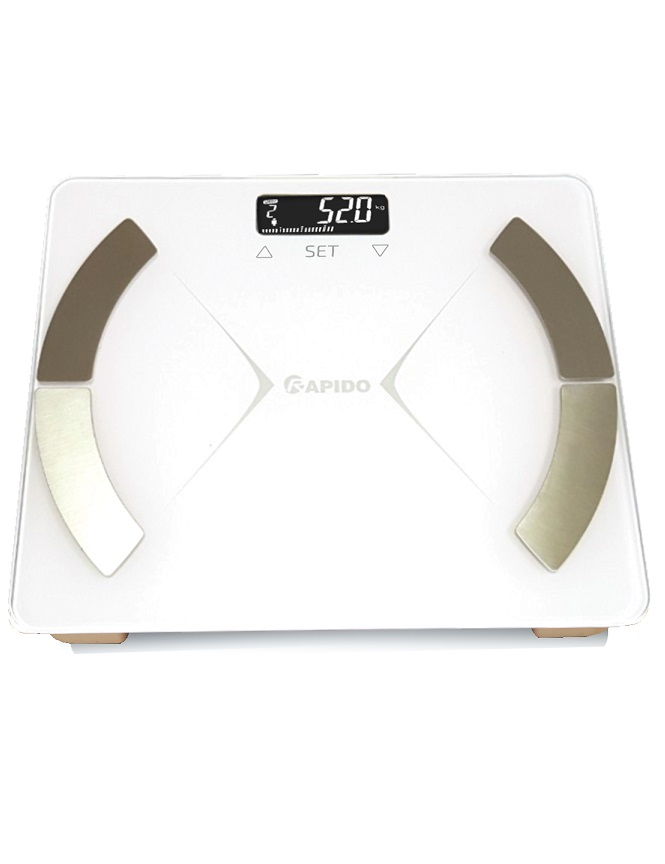 Cân sức khỏe phân tích chỉ số cơ thể Rapido RSF01-S