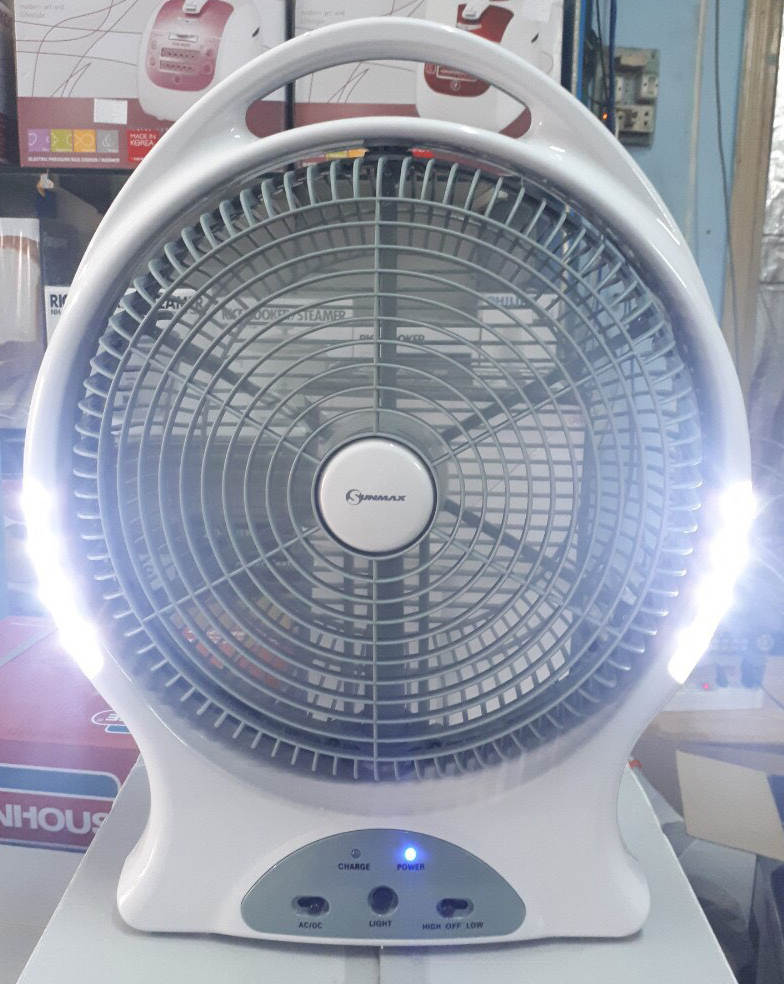 Quạt sạc Sunmax GFR12B2