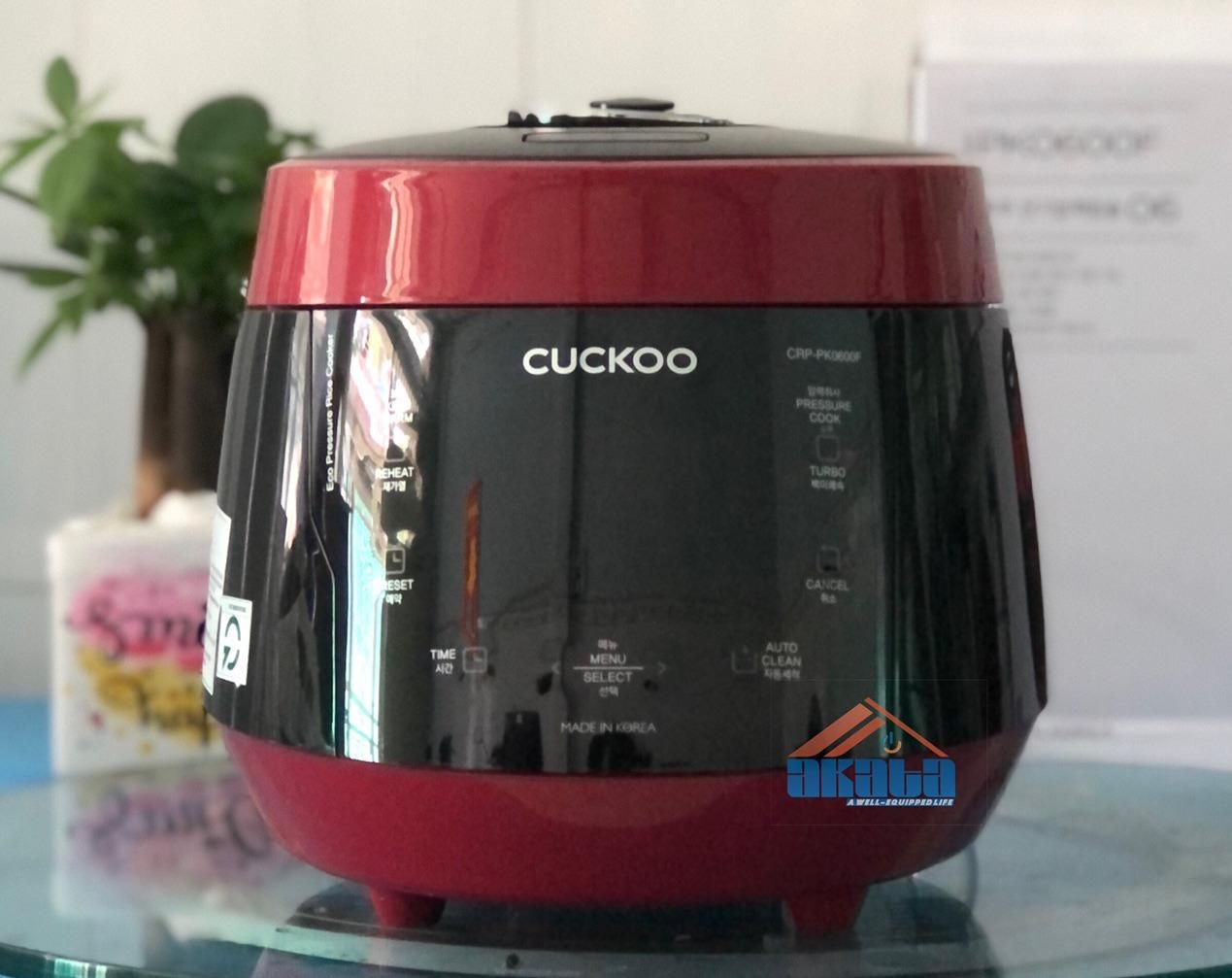 Nồi cơm điện tử áp suất Cuckoo CRP-PK0600F