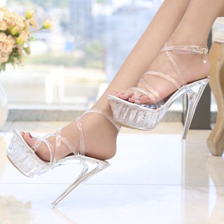 Giày Gót Trong 14cm GC-122