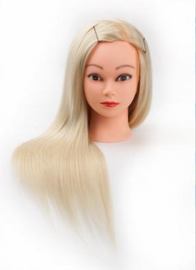 Đầu Manocanh học làm tóc - Tóc thật 100%