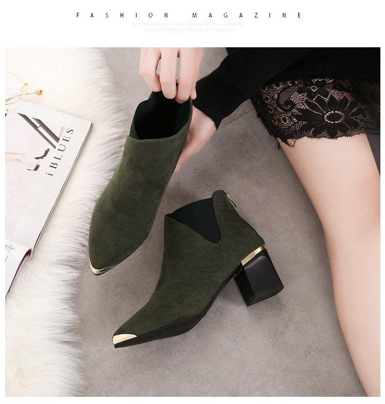 Giày Boot Nữ Cao 5cm BO-9