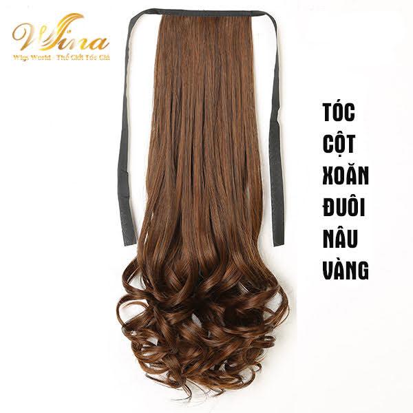 Tóc Cột Xoăn Đuôi 48cm TC - 001