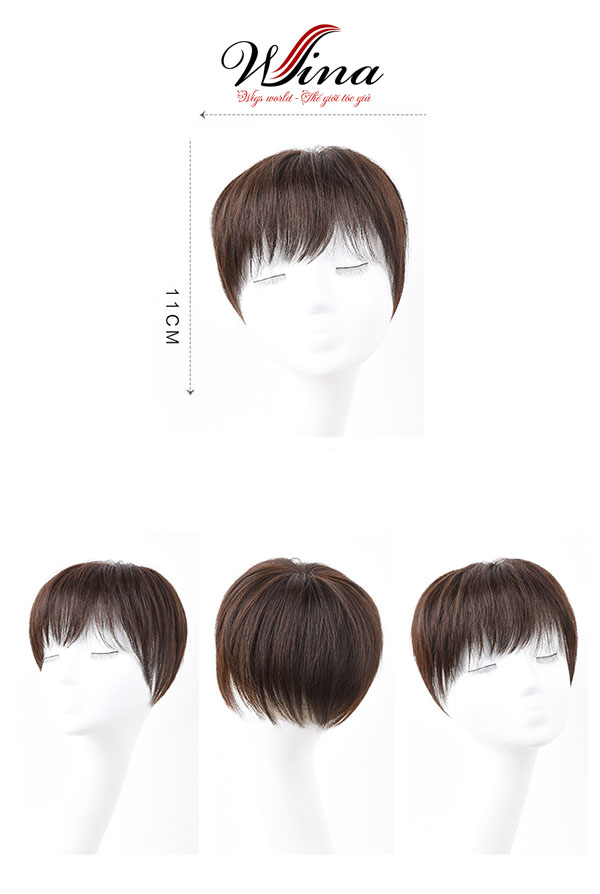 Tóc giả nguyên đầu siêu da trung niên TGT-015