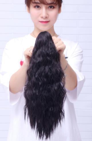 Tóc Quặm Giả Lượn Sóng Nhuyễn 40cm