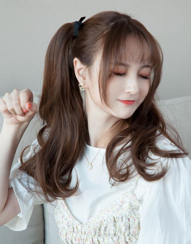 Combo Tóc Cột 2 Bên Xoăn Sóng Nhẹ WINA Sợi Tơ Chịu Nhiệt 38cm