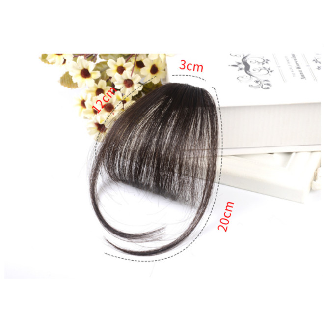 Mái thưa giả Form Dày bằng tóc thật MT-001