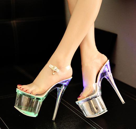 Giày cao gót pha lê GC-35 (GC-793)