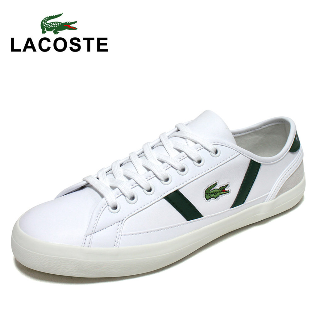 Giày Lacoste Sideline 120 – Trắng xanh