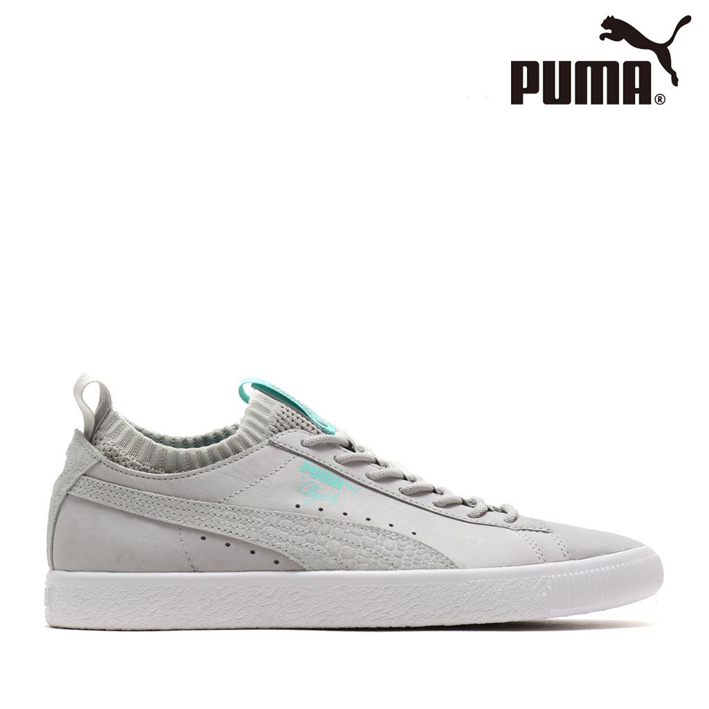 Giày Puma Clyde Sock Lo DIAMOND (Xám)