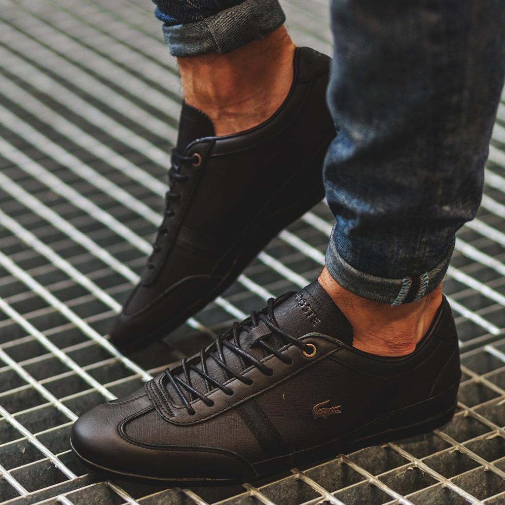 Giày Lacoste Misano 318 (Đen)