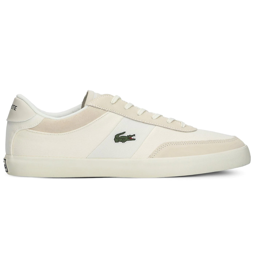 Giày Lacoste Court Master 220 – Trắng sữa