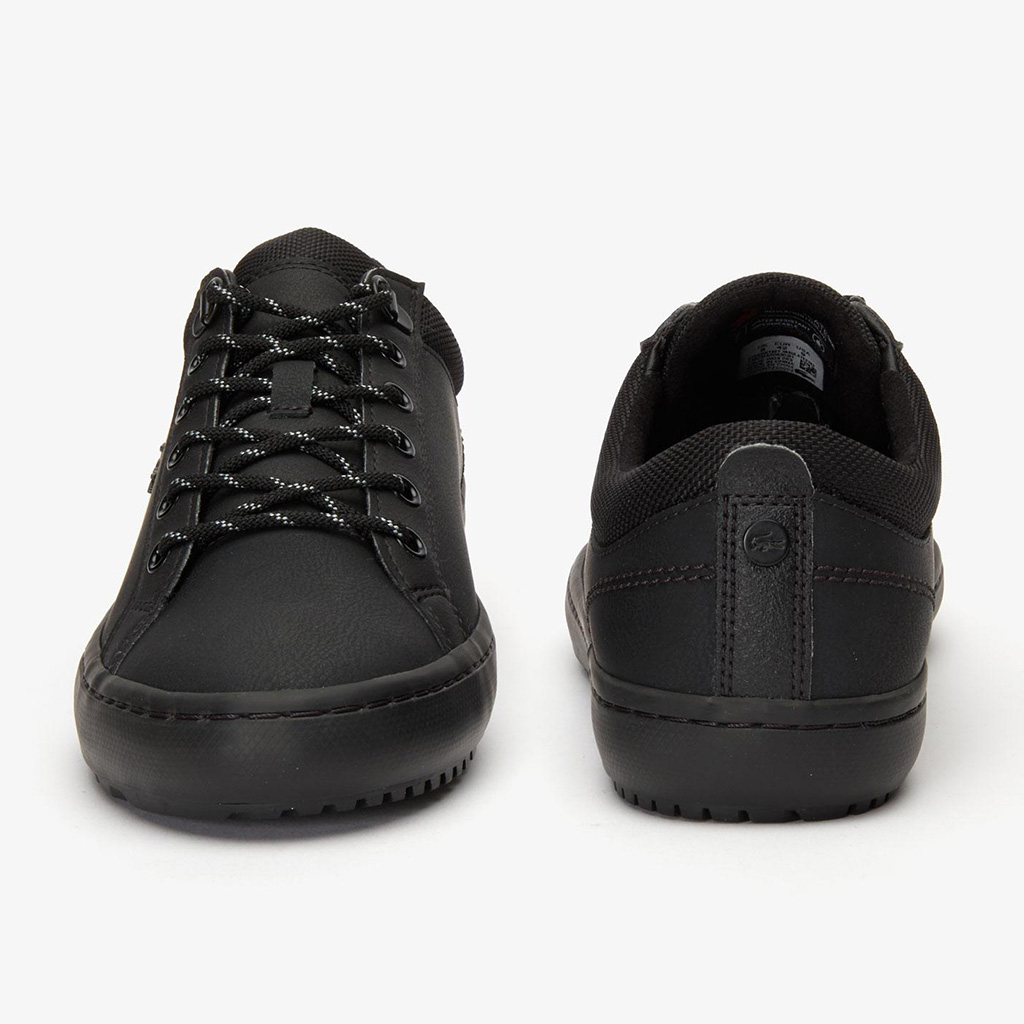 Giày Lacoste Straightset Insulate 319 (Đen)