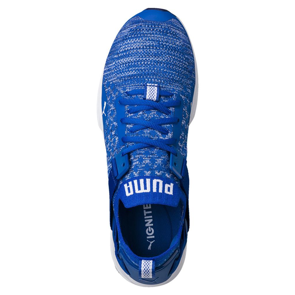 Giày Puma Ignite EvoKnit Traning Chính hãng (Màu xanh blue)   Rẻ nhất Hà Nội