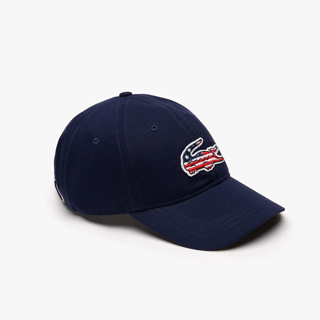 Mũ Lacoste American Flag Croc – Xanh Navy