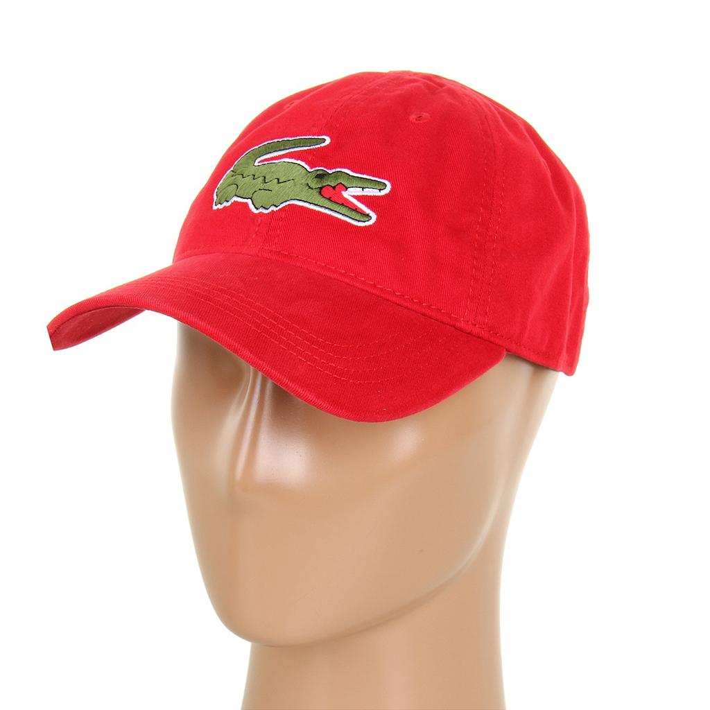 Mũ Lacoste Gabardine Big Crocodile (Đỏ)