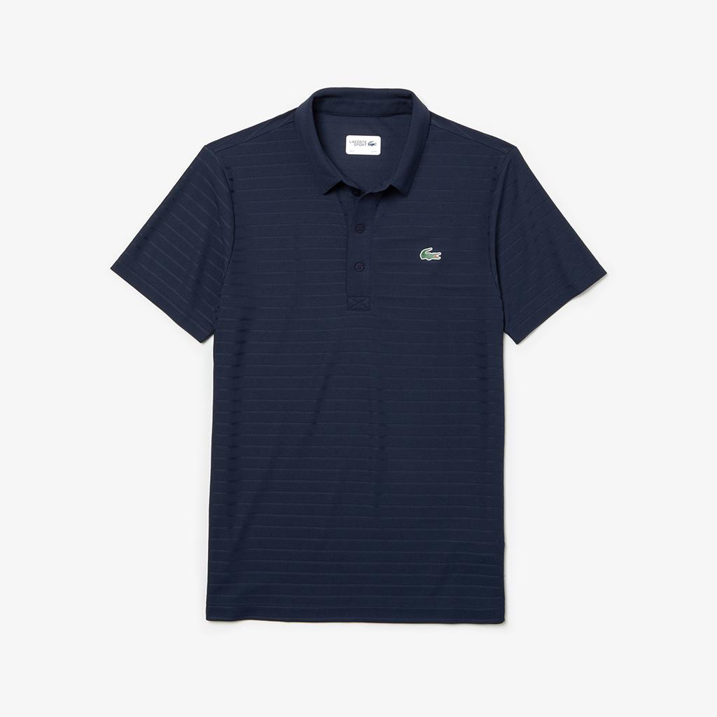Áo Polo Lacoste SPORT Golf Striped (Navy)