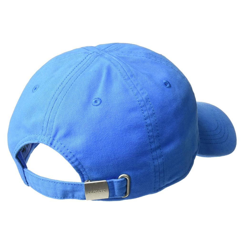 Mũ Lacoste Gabardine Big Crocodile (Blue)