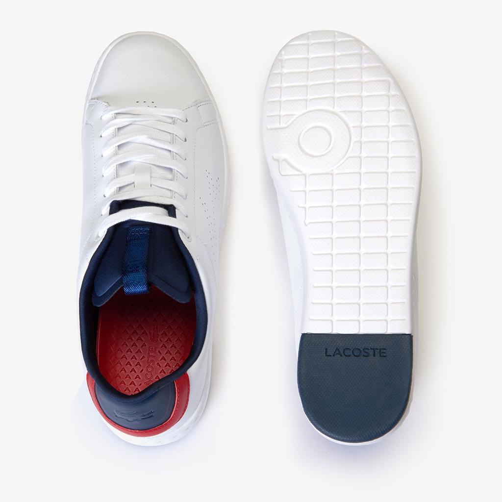 Giày Lacoste Carnaby Lightweight 119 – Trắng/Navy/Đỏ