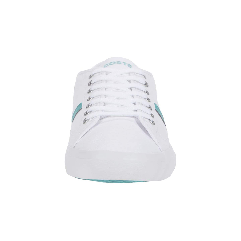Giày Lacoste Sideline 120 – Trắng/Xanh ngọc