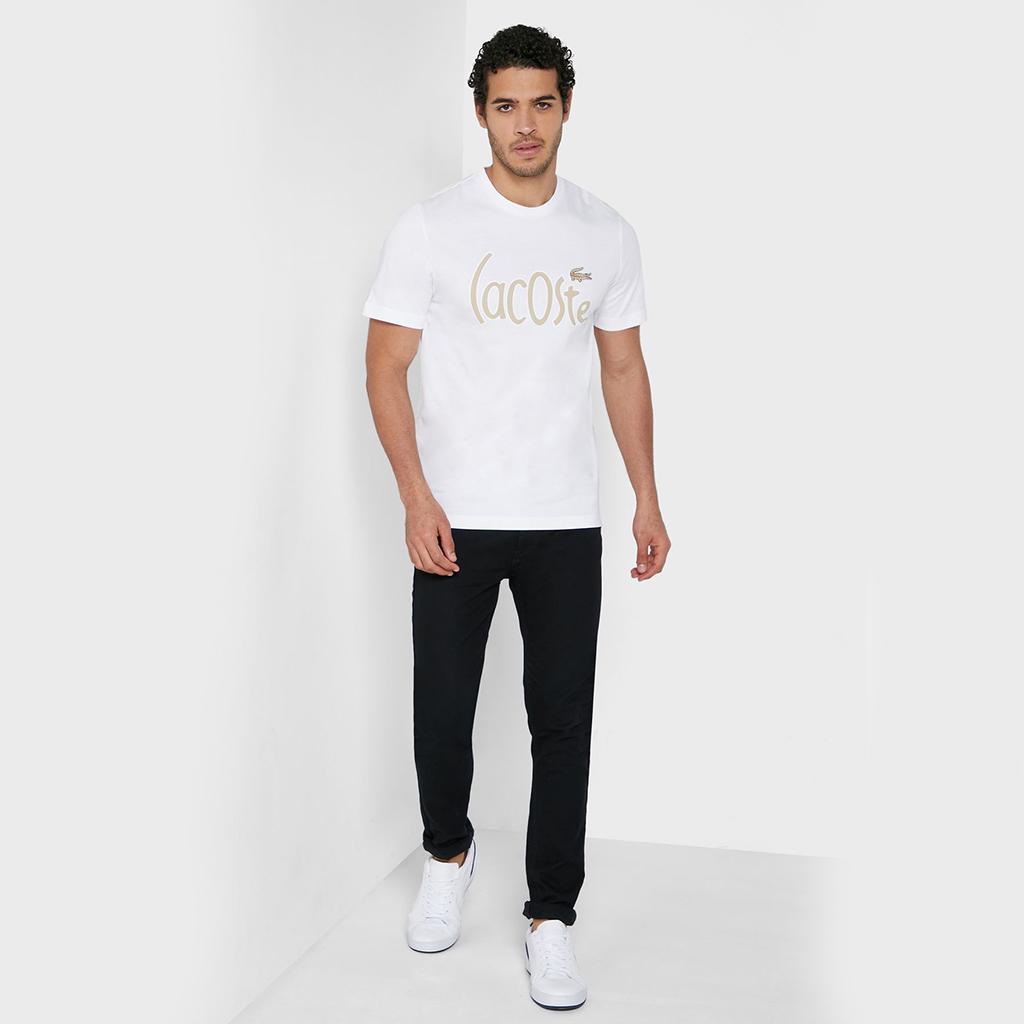 Áo Lacoste Cotton T-shirt TH0049-001 – Trắng