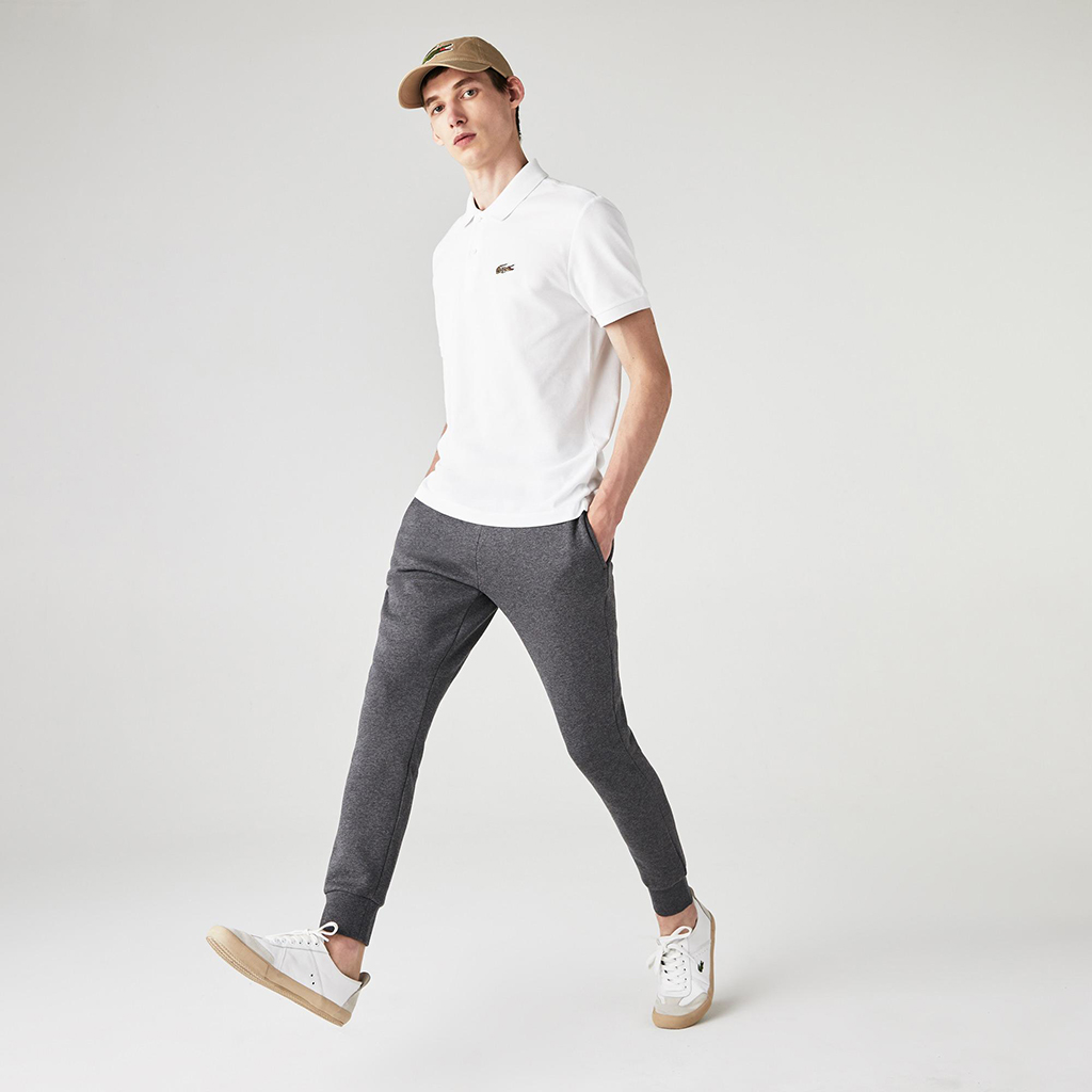 Áo Lacoste x National Geographic (Regular Fit) – Trắng