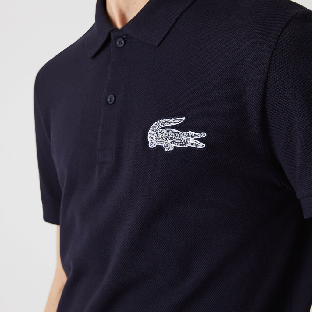 Áo polo Lacoste Crocodile Badge (Navy)