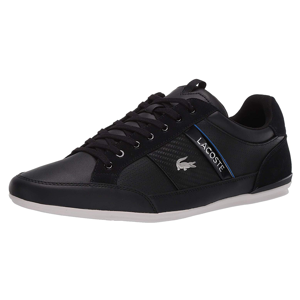 Giày Lacoste Chaymon 319 – Đen/Xanh blue