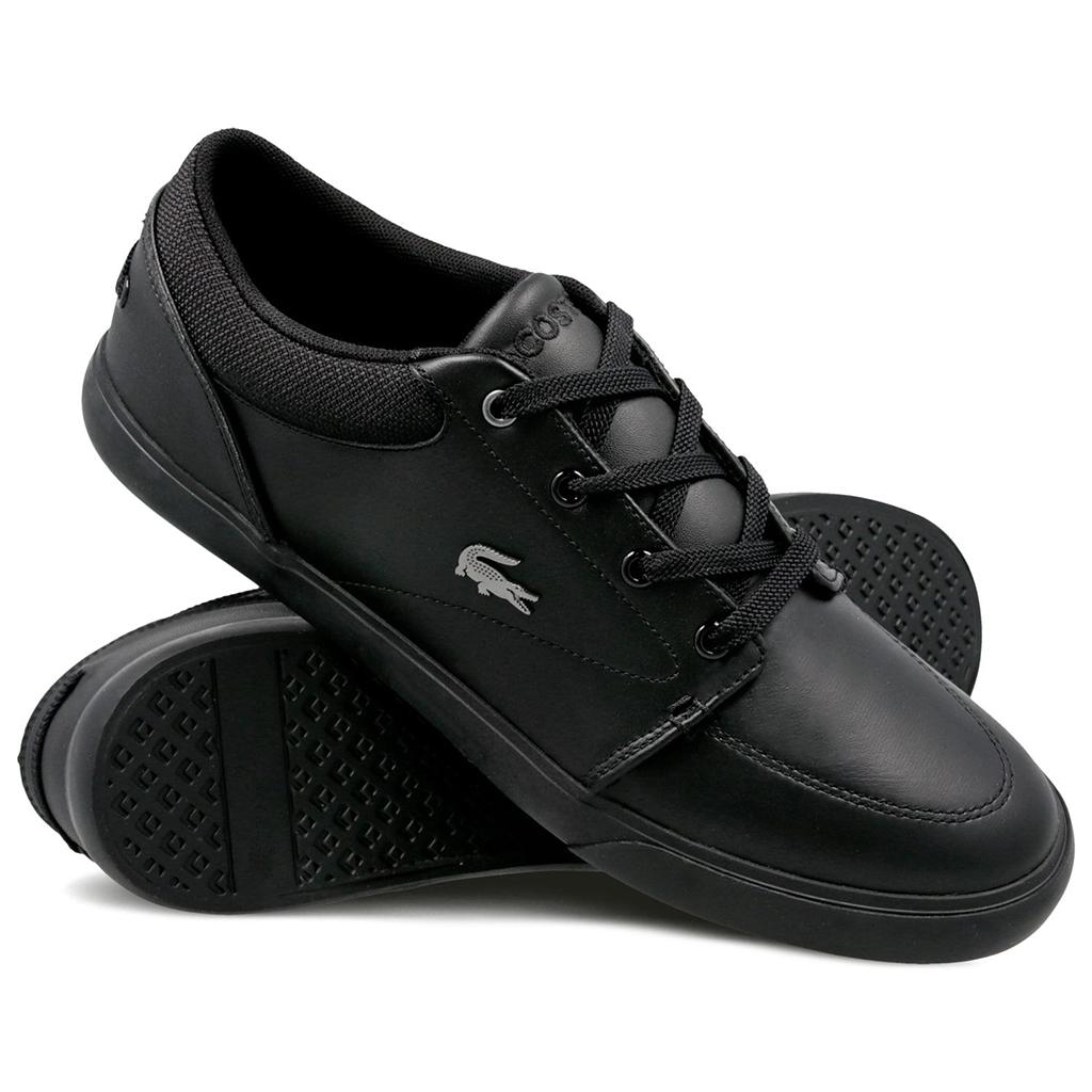 Giày Lacoste Bayliss 318 (Đen)