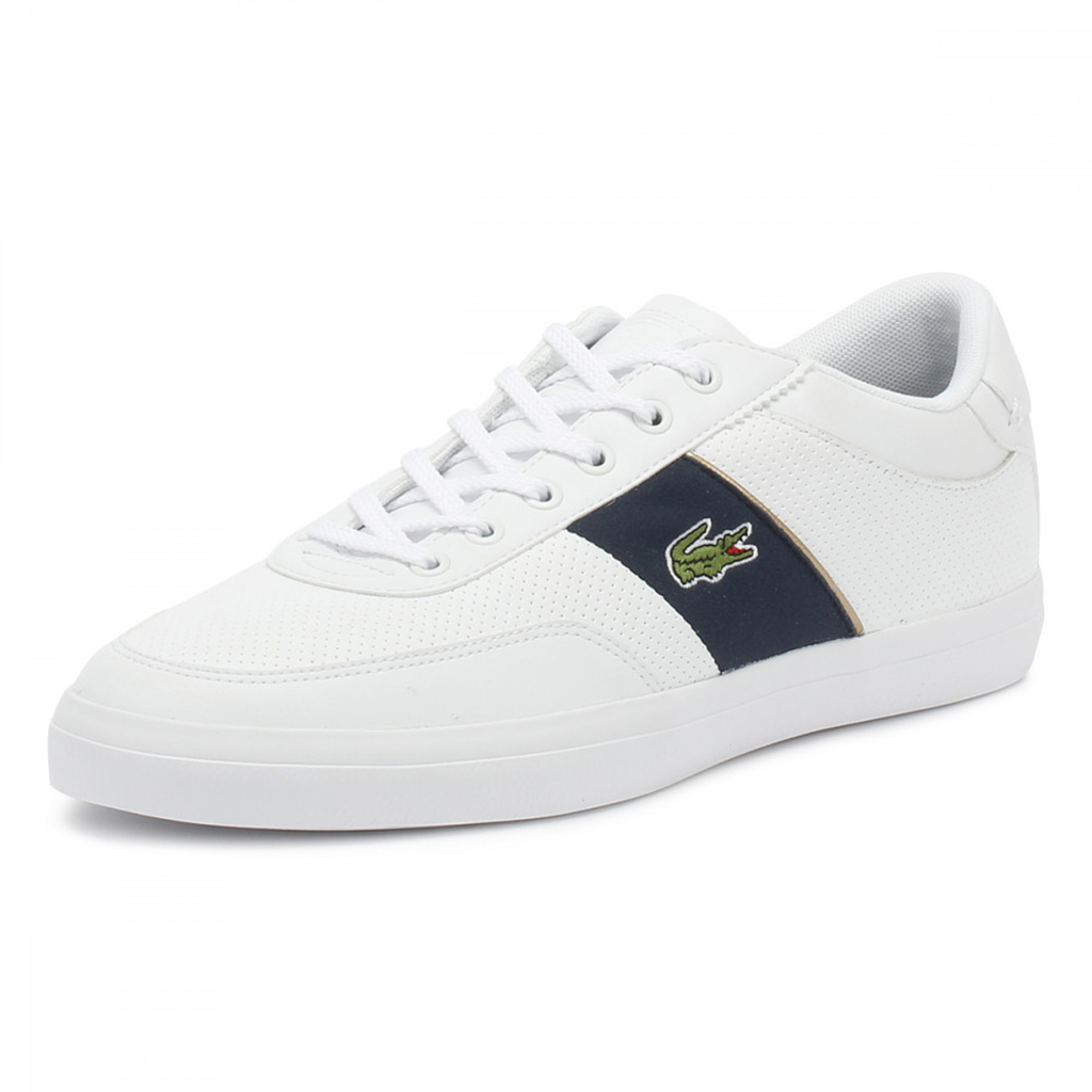 Giày Lacoste Court Master 318 (Trắng)