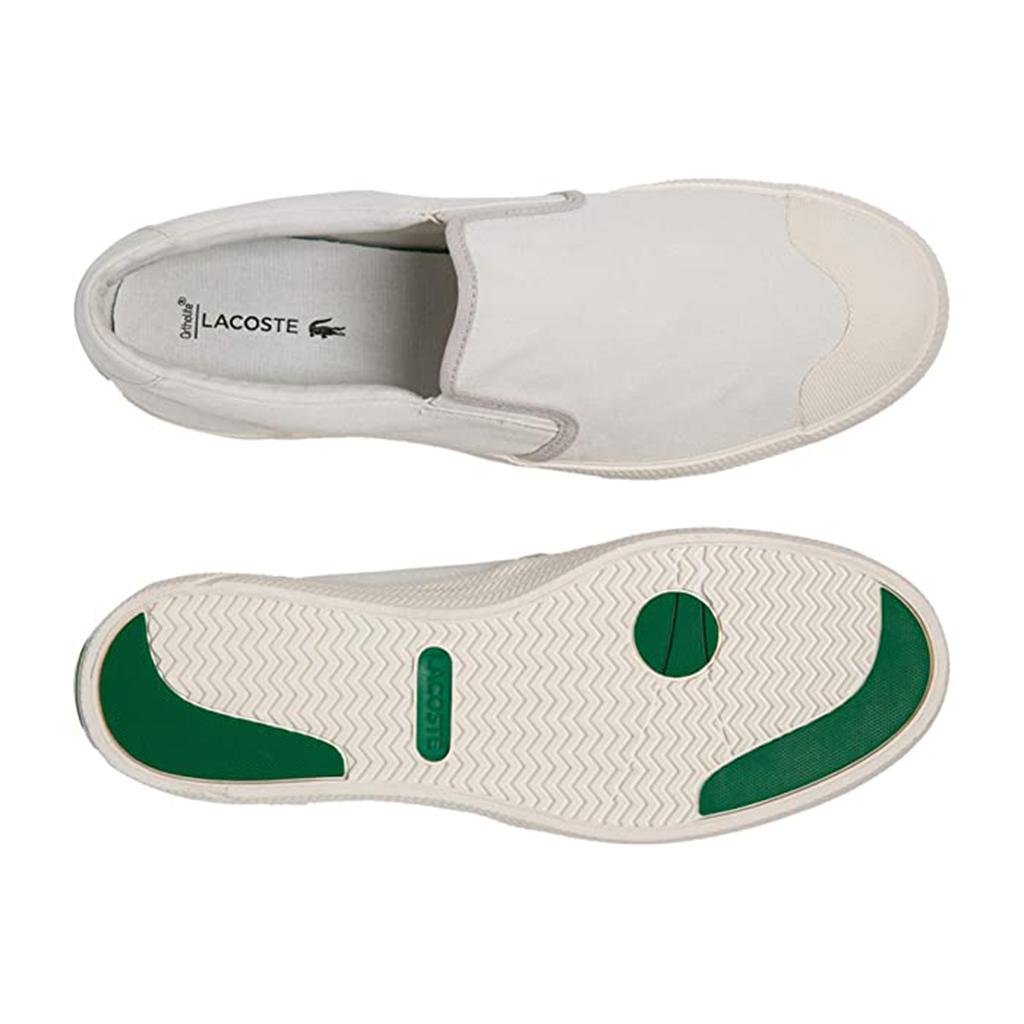Giày Lacoste Gripshot Slip-On 220 – Trắng sữa