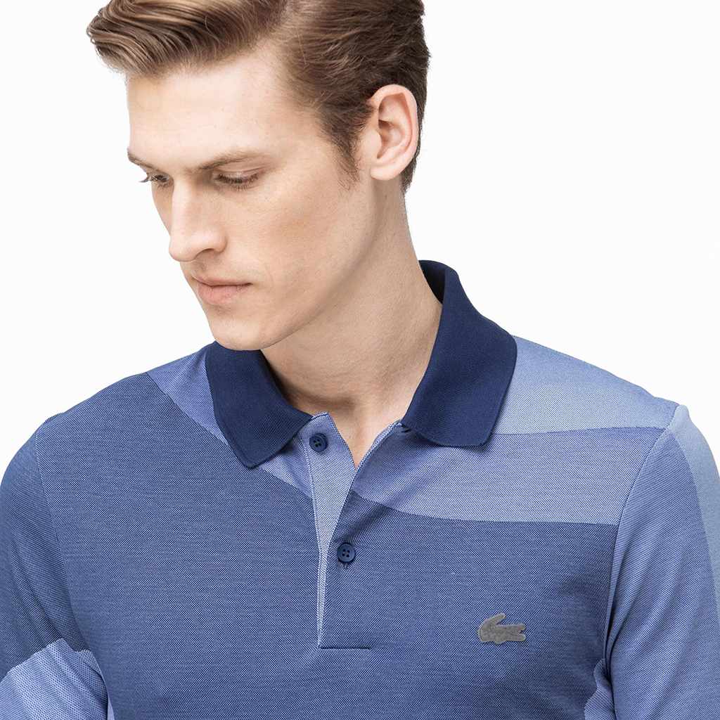 Áo Lacoste Motion Ergonomic Polo (Slim Fit) – Blue