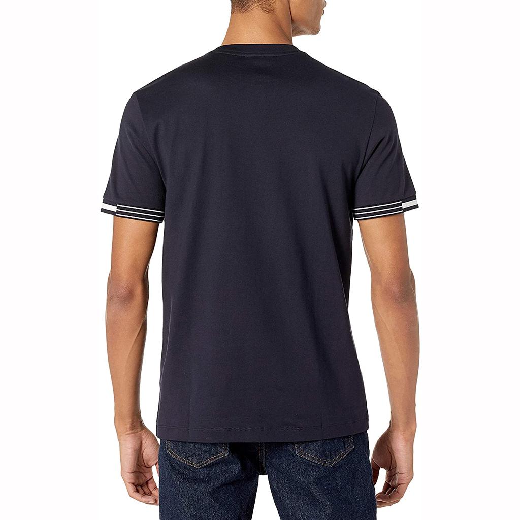 Áo Lacoste Short Sleeve Jersey Cotton T-Shirt – Xanh Navy