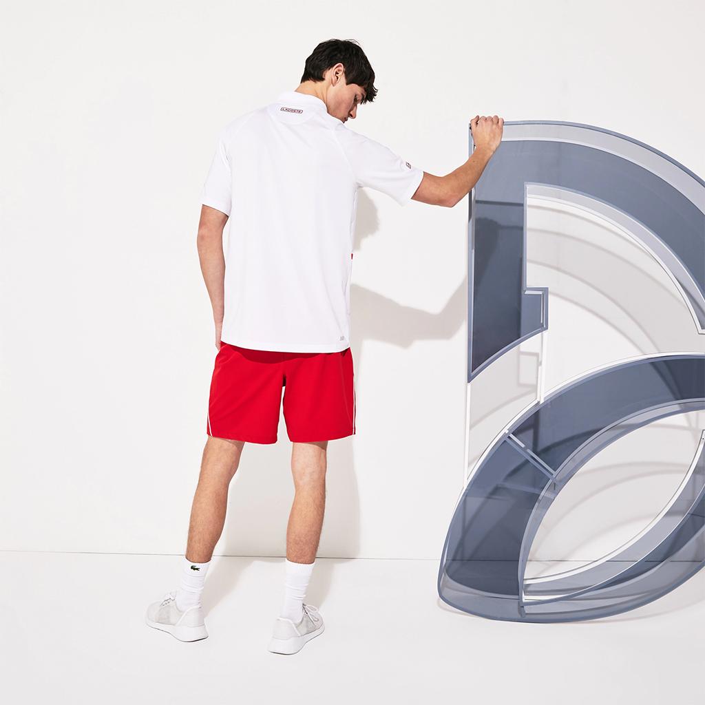Áo Lacoste SPORT Roland Garros x Novak Djokovic Polo (Regular) – Trắng