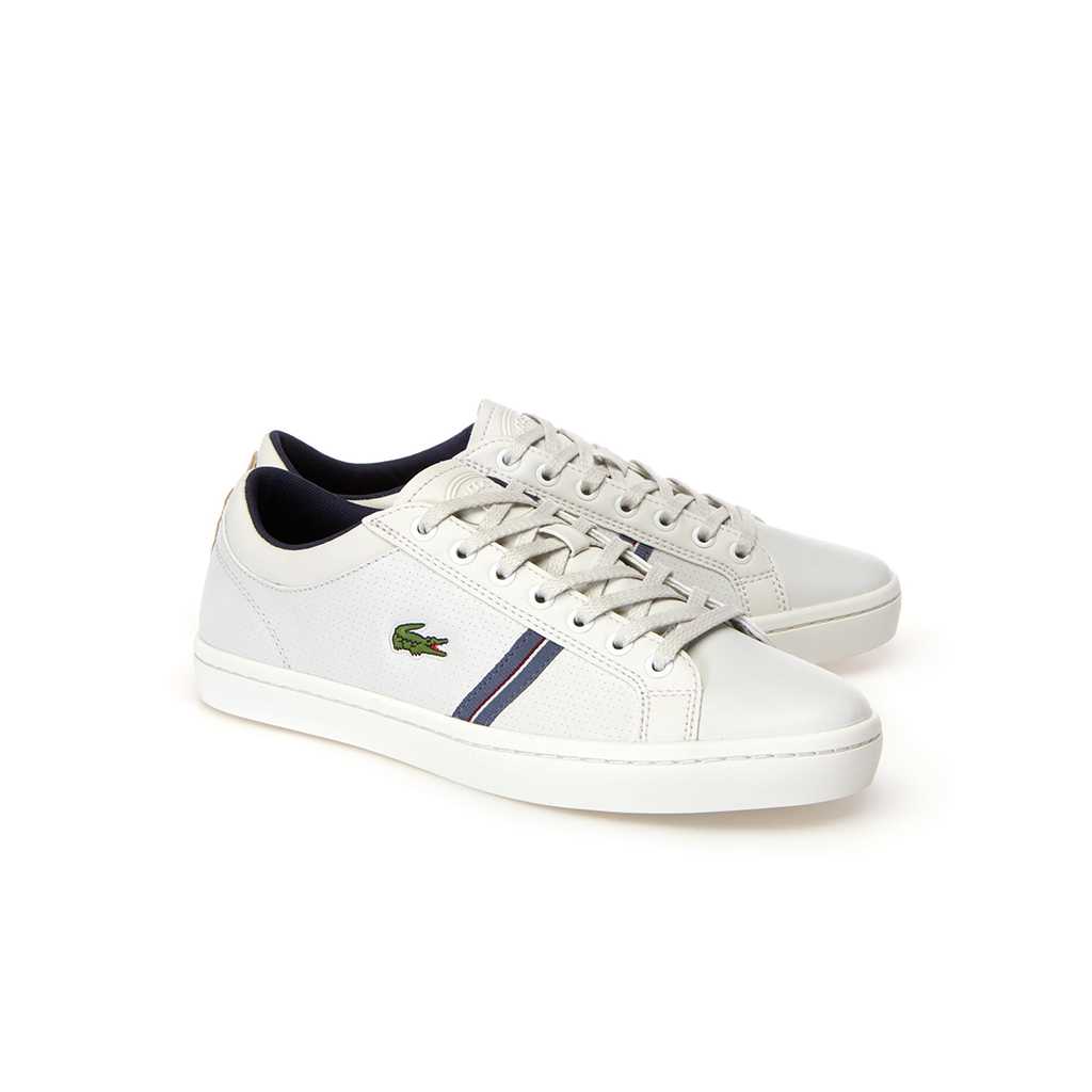 Giày Lacoste Straightset Sport 318 - Trắng