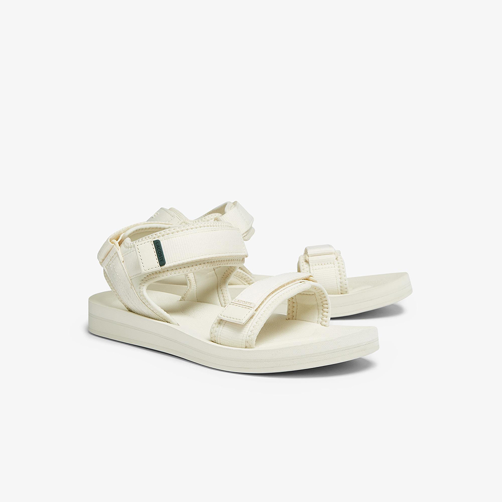 Dép Lacoste Sugura Sandal 0921 – Trắng sữa