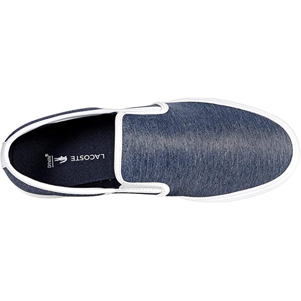 Giày Lacoste Slip on Tatalya 0721 – Xanh Blue