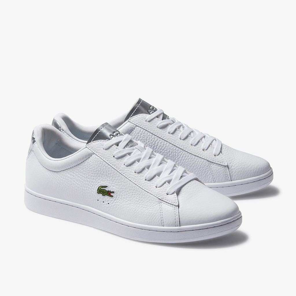 Giày Lacoste Carnaby EVO Leather 220 (Màu Trắng)