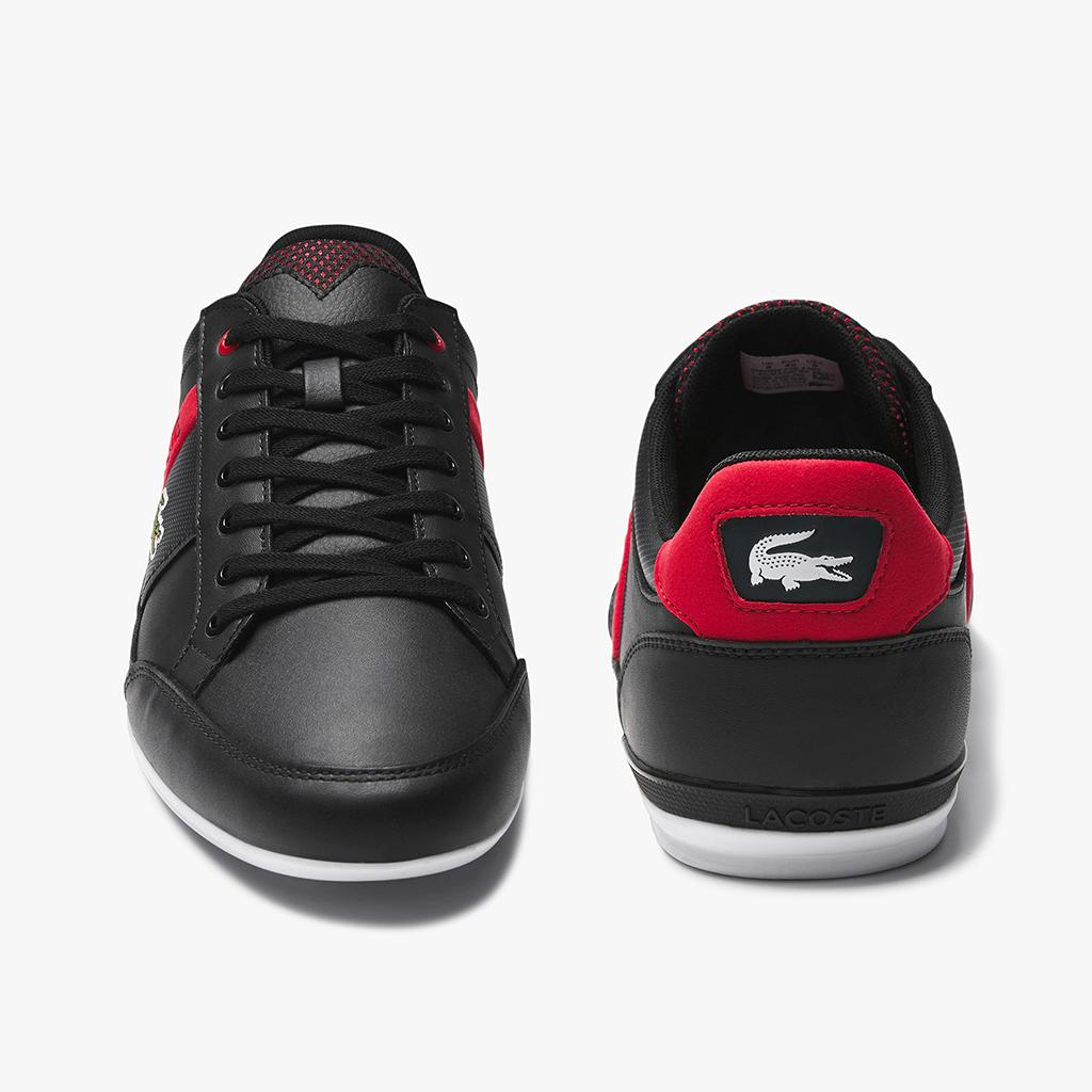 Giày Lacoste Chaymon 120 – Đen đỏ