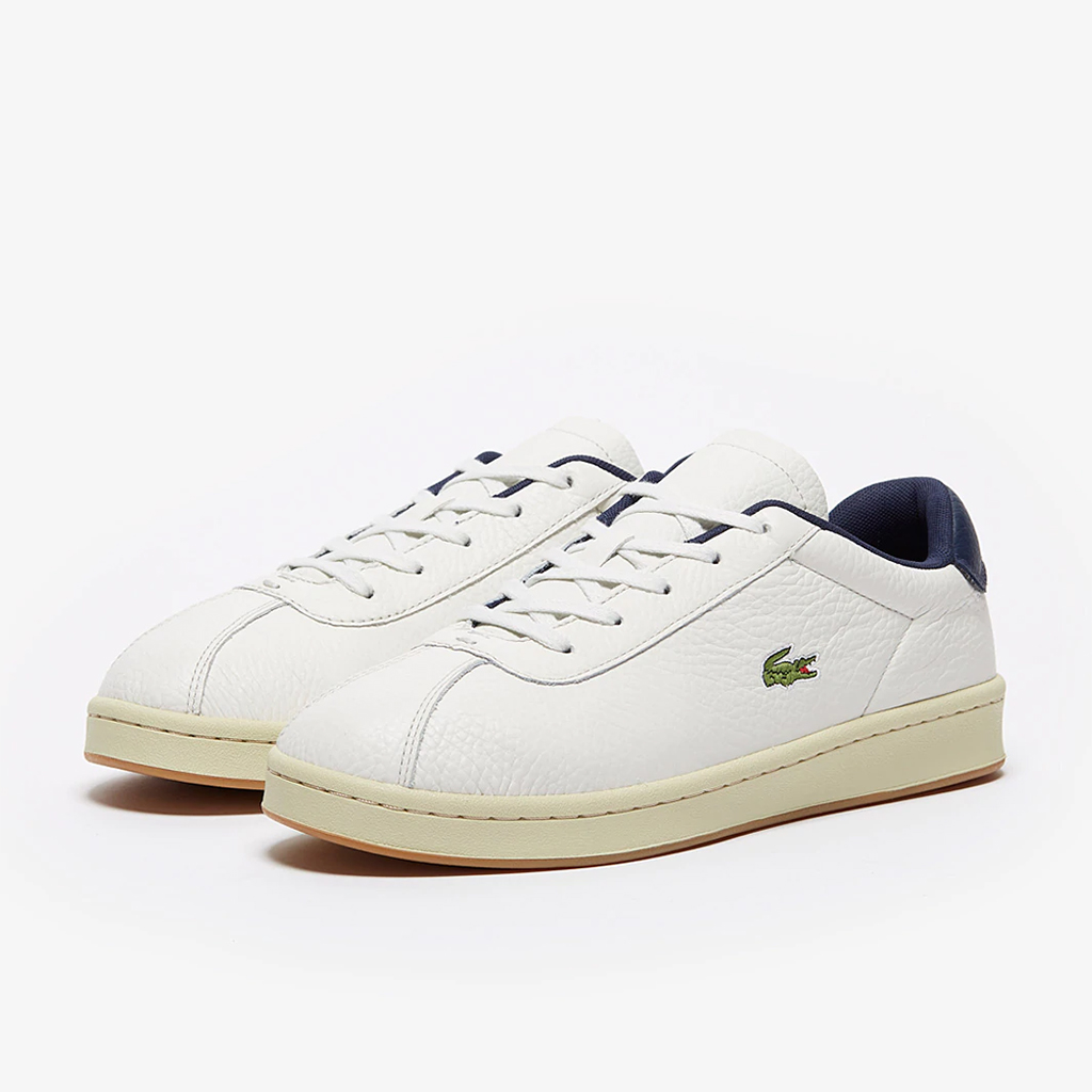 Giày Lacoste Master 120 – Trắng sữa