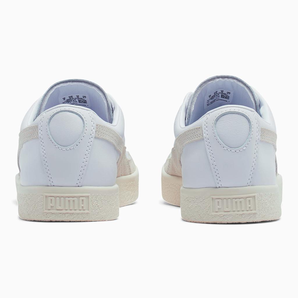 Giày Puma Basket 90680 Lux – Trắng Neon