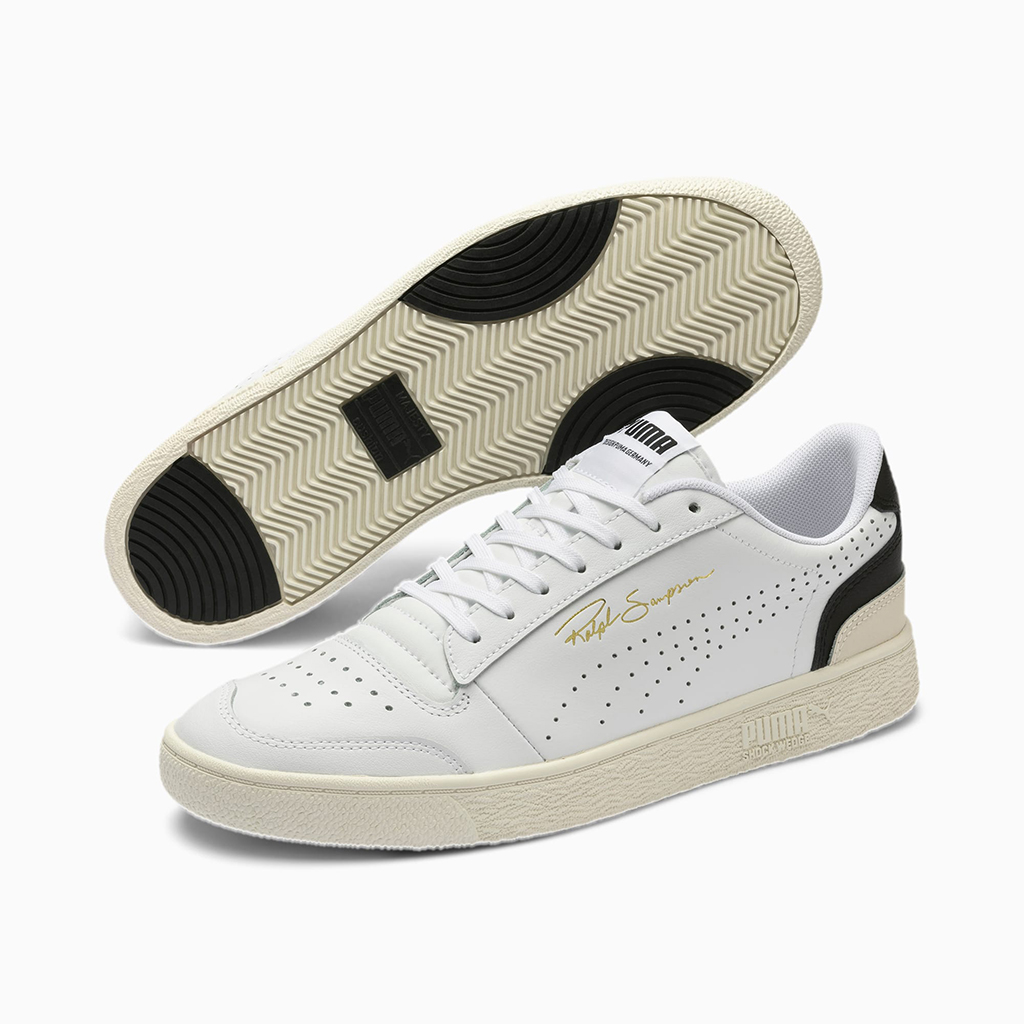 Giày Puma Ralph Sampson Lo Perforated Soft Trainers – Trắng