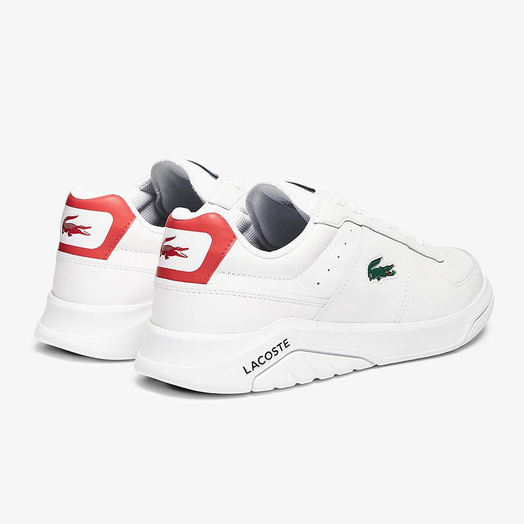 Giày Lacoste Game Advance 0721 – Trắng/Đỏ