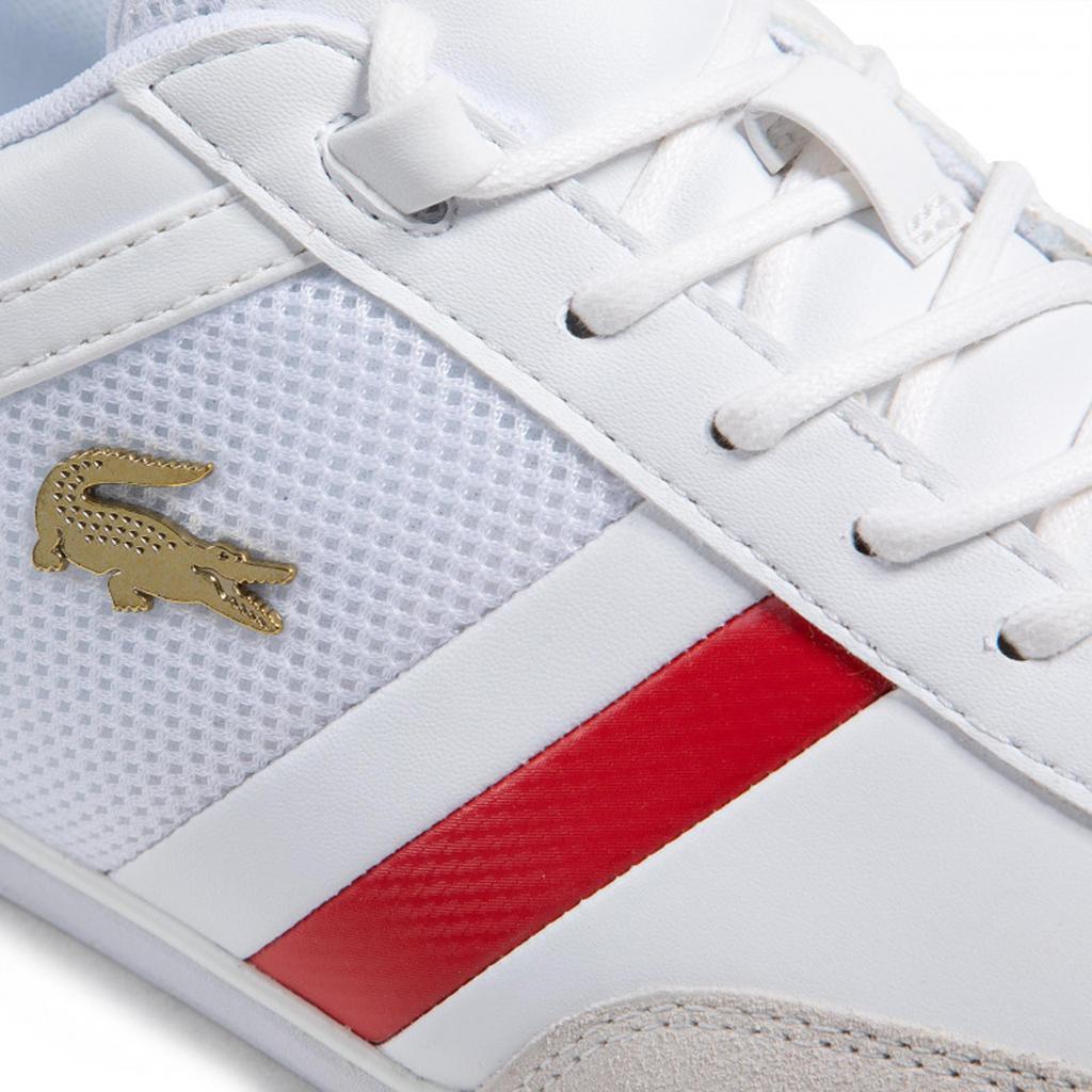 Giày Lacoste Giron 721 – Trắng/Đỏ