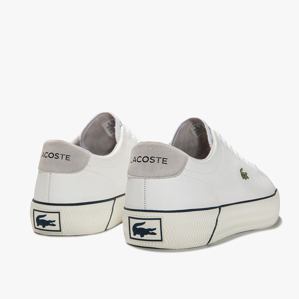 Giày Lacoste Gripshot Leather 120 – Trắng
