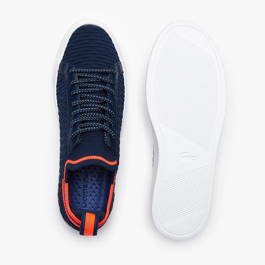 Giày Lacoste La Piquee 120 – Xanh Navy/Hồng