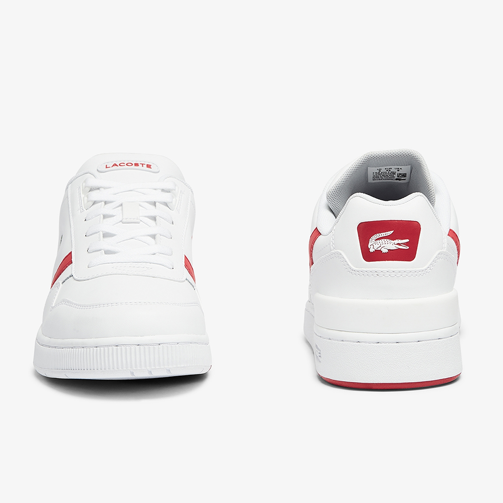 Giày Lacoste T-Clip 0721 – Trắng/Đỏ