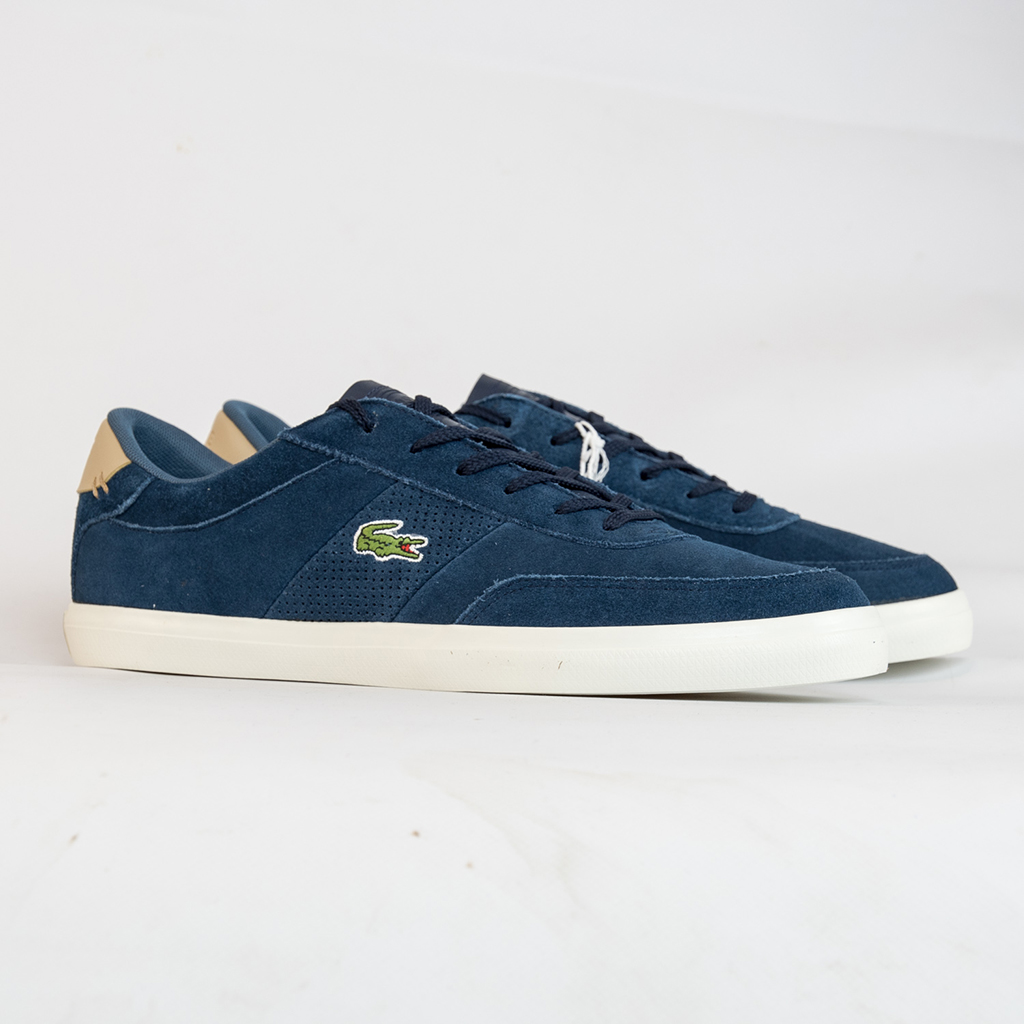 Giày Lacoste Court Master 418 (Navy)