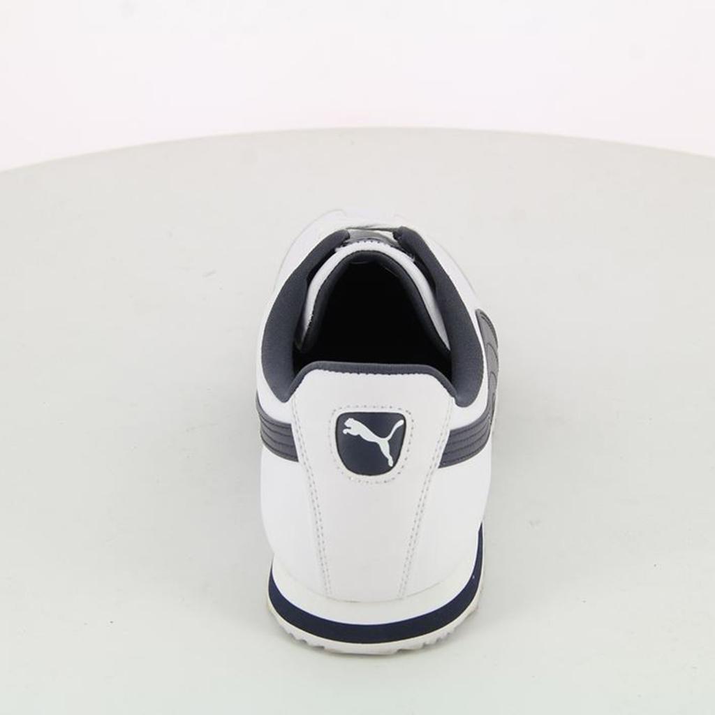 Giày Puma Roma Basic (Trắng-Navy)